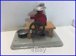Fleischmann 3 Toys Blacksmith Sausage Grinder Stone Steam Engine Accessory Toy