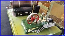 Fleischmann Live Steam Engine Antique Tin Toy Made in Western Germany 122/4