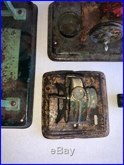 Fleischmann Sausage Grinder, Lineshaft & Grinder Wheel Steam Engine Accessories