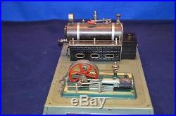 Fleischmann Stationary Live Steam Engine plus Bonus Engine