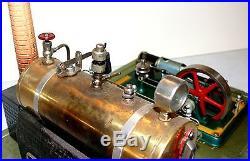 Fleischmann Steam Engine 125 / 4 with Blacksmith Accessory Very Good Condition