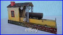 For railway. Factory. Sawmill. For the layout. Antique. Germany. Steam engine