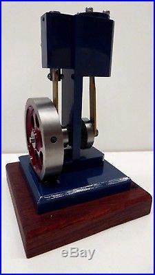 Freelance Single Acting Steam Engine Working Metal Engineer Model Air Power