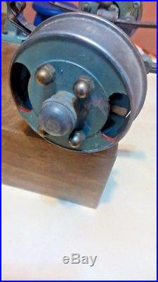Front axle steering model steam engine art deco cutaway display garage