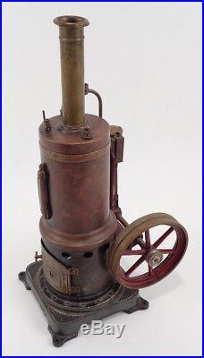 GBN Bavaria Vertical Live Steam Engine Boiler Bing Toy DRGM GB 1653 1908 1925