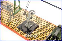 Gebrüder Bing ca. 1898 Vertical Steam Engine Mechanical Workshop #8904 German Toy