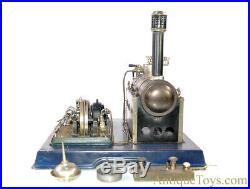 Gebrüder Maerklin Horizontal Steam Engine 4098/92/8 25V Generator Burner & Xtra