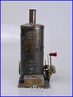 Genuine & Original 1929 Meccano Steam Engine Machine à vapeur 1929 Meccano