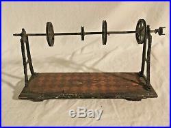 German EARLY LARGE steam engine tin toy transmission rare 1910s Marklin Bing