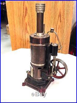 Gerrman Bing Vertical Steam Engine