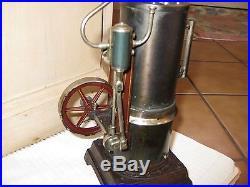 Gerrman Vertical Steam Engine Carette for American Market