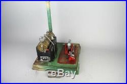 Good vintage Marklin live steam engine, prewar tin toy