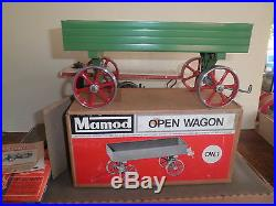 Great old original Mamod Steam Engine Tractor with Trailer