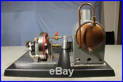 Hand Built Large Table Model Live Toy Steam Engine Trainee Project