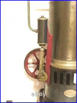 HARD TO FIND Antique Doll DC Wiener-Flachbrenner Model 322-3 Steam Engine