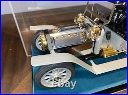 HUGE Mamod SA1L Live Steam Limousine 16 Metal Steam Engine Car with case