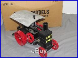 Hart Parr Steam Engine Tractor 1990 First One RARE 1/16 Scale Models 30-60 NIB