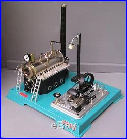 Horizontal, Wilesco D-18, live steam engine, in excellent condition with box