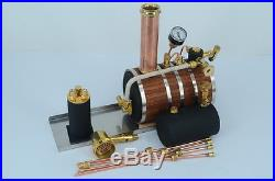 Horizontal steam boiler models For Marine Steam Engine