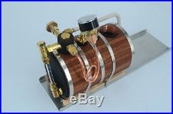 Horizontal steam boiler models For Marine Steam Engine Live Steam