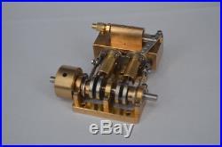 Horizontal two-cylinder steam engine Q5B