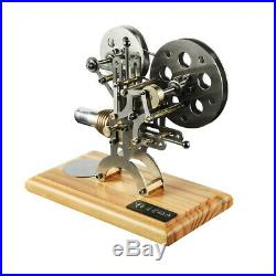 Hot Air Stirling Engine Model Generator Motor Educational Steam Power Toy V2U4