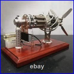 Hot Air Stirling Engine Model Generator Motor Steam Power Educational Toys A
