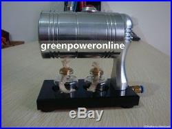 Hot Live Steam Engine Cylinder Unibody Design Model education Toy Kit DIY GL-001