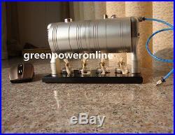 Hot Live Steam Engine Cylinder Unibody Design Model education Toy Kit DIY GL-002