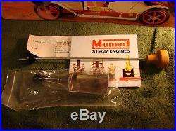 In Box Vintage Mamod Live Steam Engine Driven Roadster SA1 Car Made in England