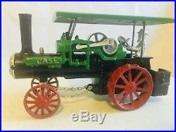 Irvins Model Shop Toy CASE Steam Engine Tractor and Water Tank