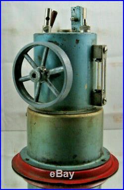 JENSEN MODEL 45 VERTICAL BOILER STEAM ENGINE Jeanette, PA withCord