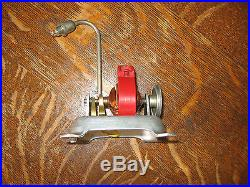 JENSEN STEAM ENGINE ELECTRIC GENERATOR With LIGHT #15 / VERY-NICE CONDITION