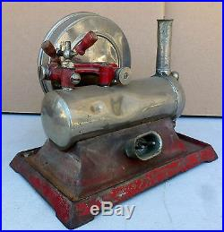 JK 200 1930s Empire Metal Ware Model B-35 Electric Toy Steam Engine SCARCE