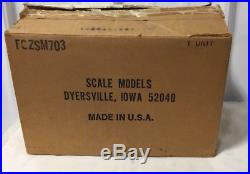JLE Scale Models Case 20-40 Steam Engine Tractor 1/16 W Box