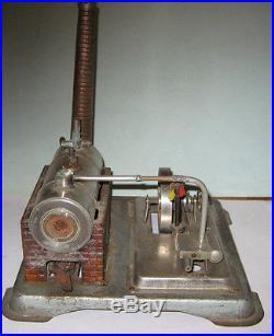 Jensen 65 Live Steam Engine with piston valve USA made all Brass chromed steel