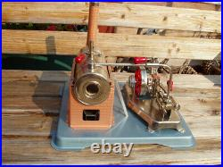 Jensen Dry Fuel Fired Steam Engine Style Model #75 Never Used No Box + Issue