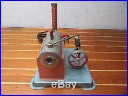 Jensen MFG. Co. Model 70 115V Vintage Toy Steam Engine Boiler Furnace