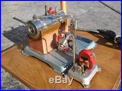Jensen MFG Company Style 70 Electrically Heated Steam Engine With Light