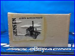 Jensen Manufacturing Co inc Steam Engine Model #70 in original box 100% complete