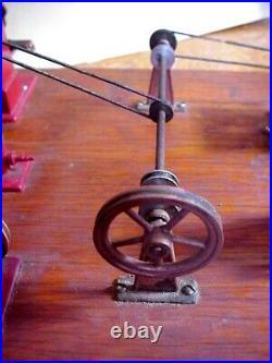Jensen Mfg Co Steam Engine Workshop Style 100 Die-cast Toy Machine Tools