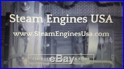 Jensen Model 20G 4 Bolt Collector Edition Live Steam Engine Electric