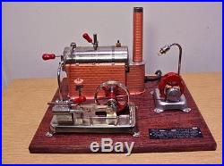 Jensen Model 25G Live Steam Engine Free Shipping to USA / fee for outside USA