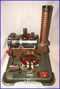 Jensen Model 60 ORIGINAL Live Steam Engine