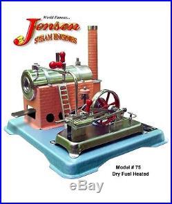Jensen Model #75 Live Steam Engine