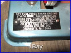 Jensen Model, 76, Live, Steam Engine, model, working steam engine