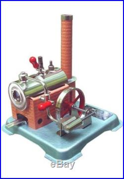 Jensen Steam Engine 60 Mechanical Energy, Motion Do-It-Yourself Dry Fuel Heated