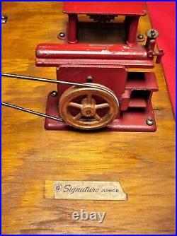 Jensen Steam Engine Toy Machine Work Shop Model # 100 Very Nice Condition