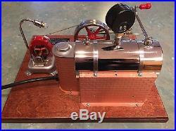 Jensen Steam Model 20G 4 Bolt Collector Edition Steam Engine Electric Cast Iron