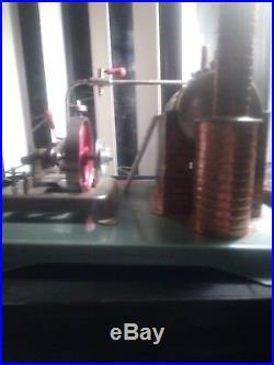 Jensen steam engine style 75 miniature model